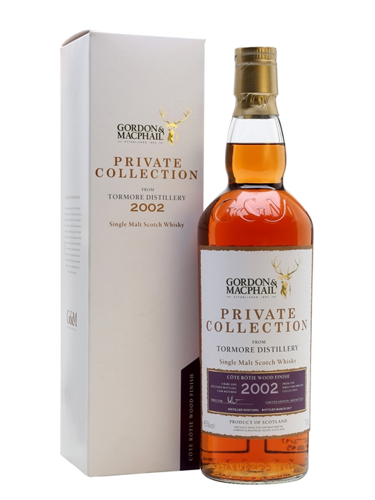 Tormore 2002 / Côte Rôtie / Private Collection Speyside Whisky