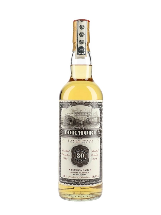 Tormore 1988 / 30 Year Old / Jack Wiebers Old Train Line Speyside Whisky