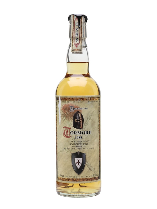 Tormore 1988 / 30 Year Old / Kreuzritter / Jack Wiebers Speyside Whisky