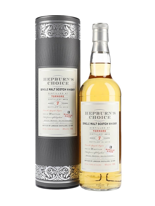 Tormore 2012 / 7 Year Old / Hepburn Speyside Single Malt Scotch Whisky