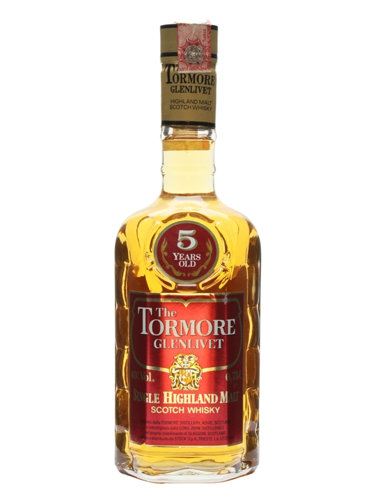 Tormore 5 Year Old / Bot.1980s Speyside Single Malt Scotch Whisky