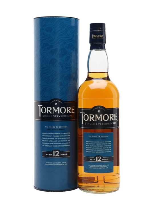 Tormore 12 Year Old Speyside Single Malt Scotch Whisky