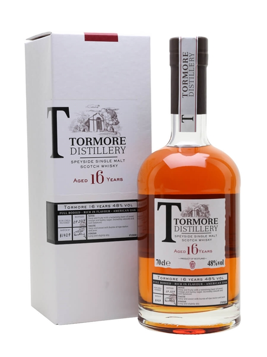 Tormore 16 Year Old Speyside Single Malt Scotch Whisky