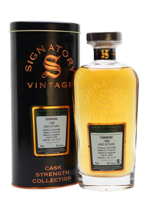 Tormore 1988 / 30 Year Old / Cask 15592 / Sig Speyside Whisky