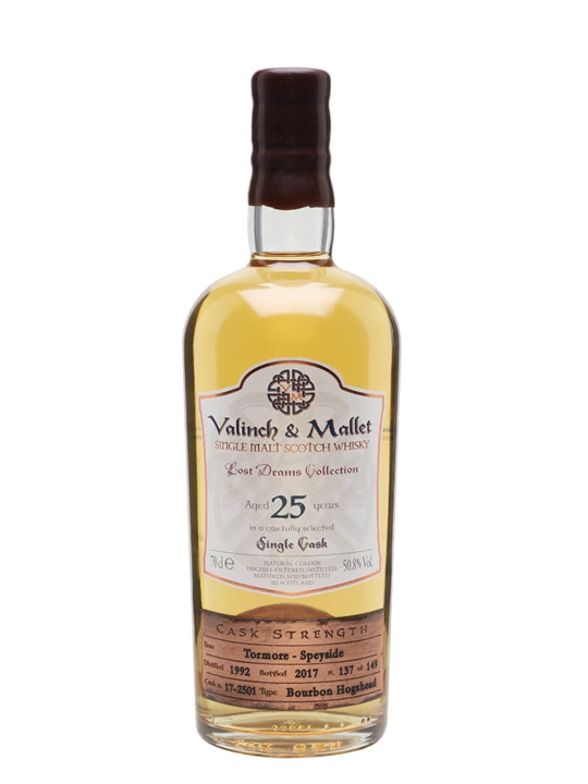 Tormore 1992 / 25 Year Old / Valinch & Mallet Speyside Whisky
