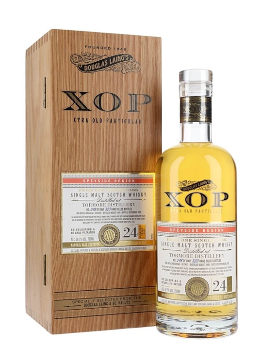 Tormore 1995 / 24 Year Old / Xtra Old Particular Speyside Whisky