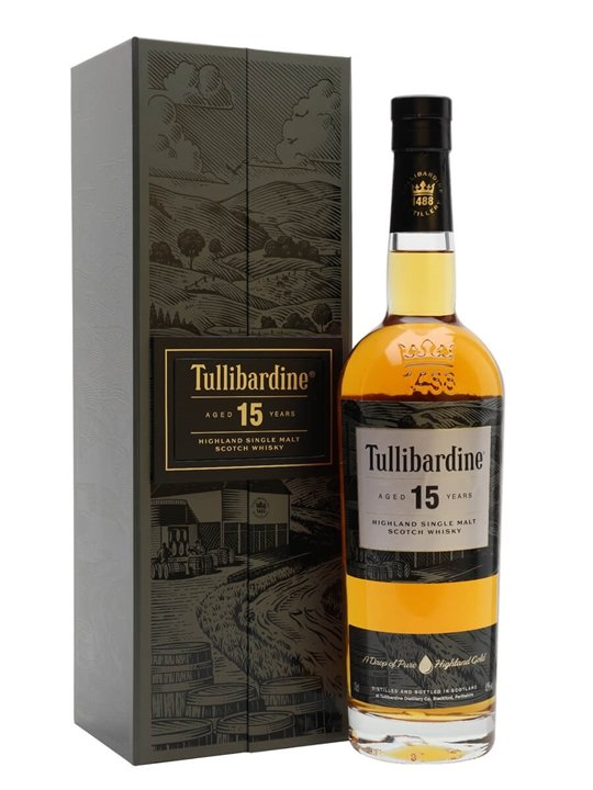 Tullibardine 15 Year Old Highland Single Malt Scotch Whisky