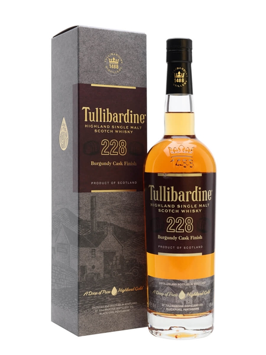 Tullibardine 228 / Burgundy Finish Highland Single Malt Scotch Whisky