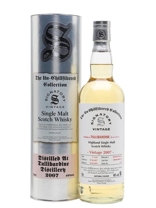 Tullibardine 2007 / 11 Year Old / Signatory Highland Whisky