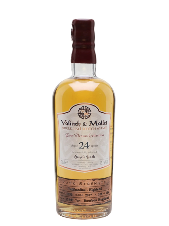 Tullibardine 1993 / 24 Year Old / Valinch & Mallet Highland Whisky