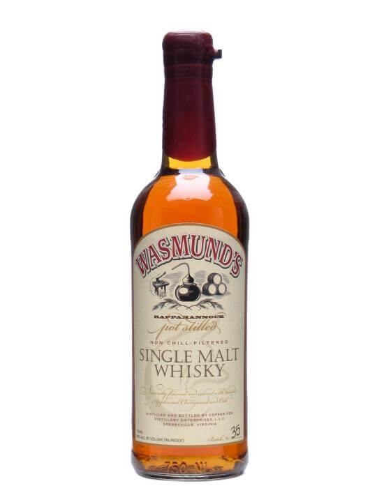 Wasmund's Single Malt Whisky American Single Malt Whiskey