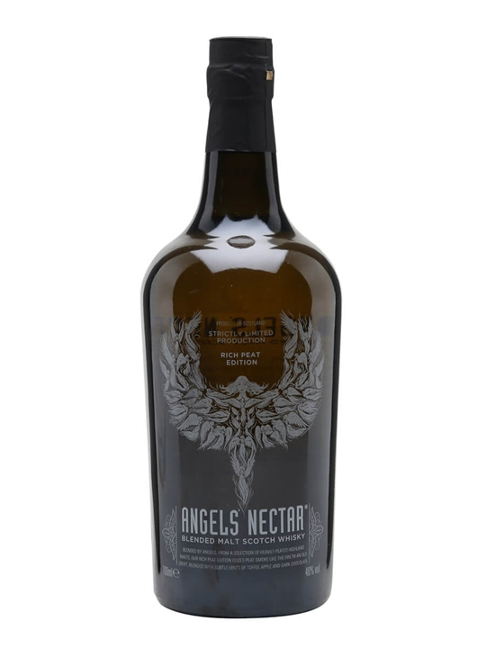 Angels' Nectar Rich Peat Edition Highland Blended Malt Scotch Whisky