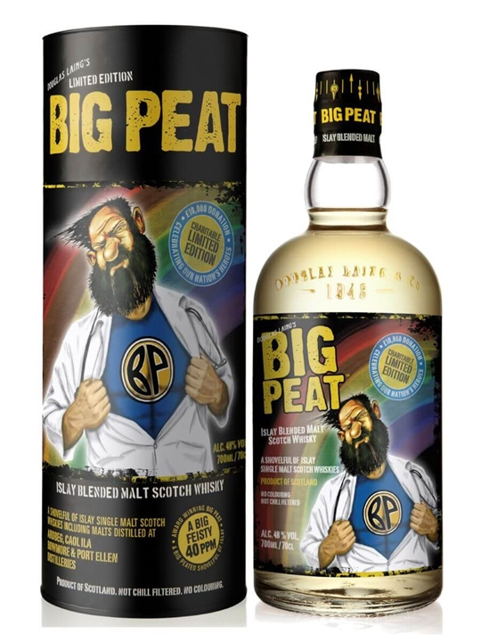 Big Peat Heroes Blended Malt Islay Blended Malt Scotch Whisky