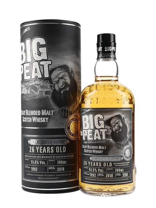 Big Peat 26 Year Old Islay Blended Malt Scotch Whisky