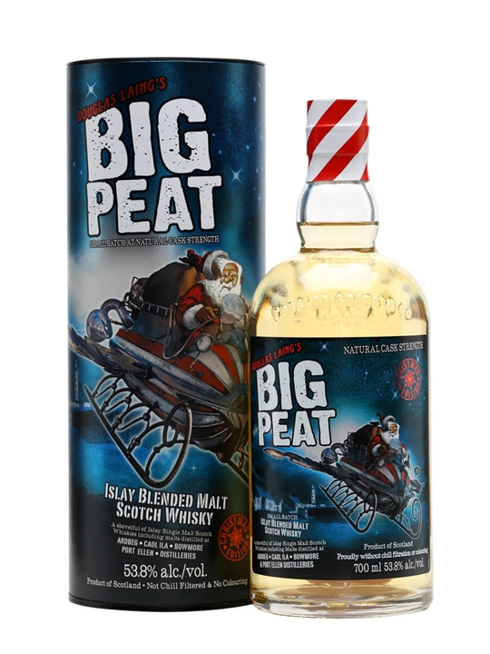 Big Peat Blended Malt / Christmas Edition 2015 Blended Whisky