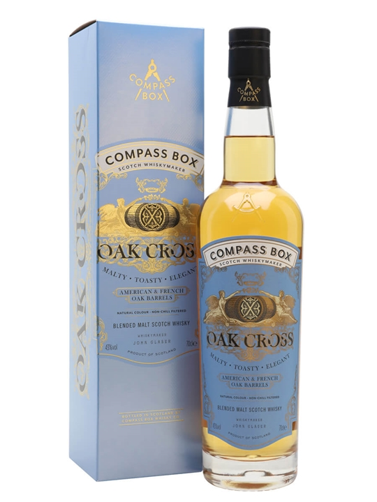 Compass Box Oak Cross Highland Blended Malt Scotch Whisky