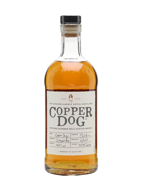 Copper Dog Speyside Blended Malt Scotch Whisky