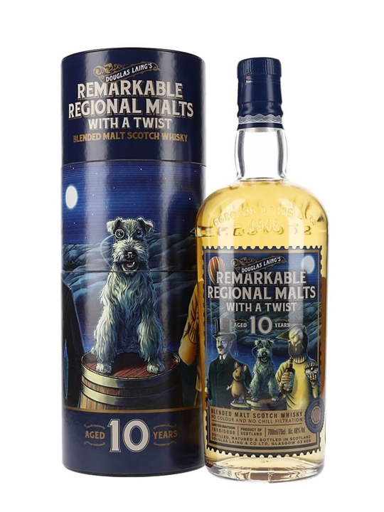 Douglas Laing Remarkable Regional Malts 10 Year Old Blended Whisky