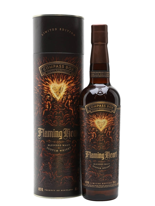 Compass Box Flaming Heart / 2018 Edition Blended Malt Scotch Whisky