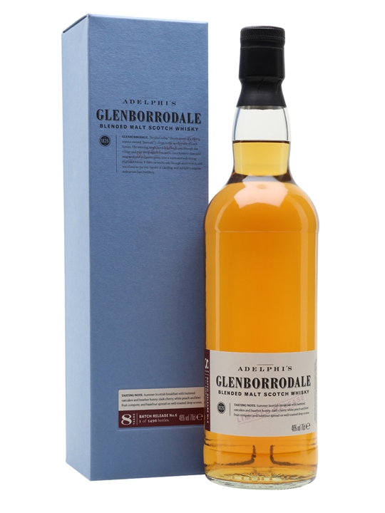 Glenborrodale Batch 6 / 8 Year Old Blended Malt Scotch Whisky