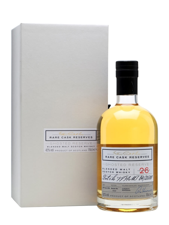 Ghosted Reserve 26 Year Old / William Grant & Sons Blended Whisky