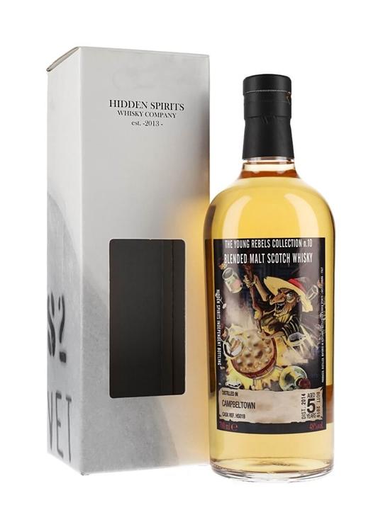 Campbeltown Blended Malt 5 Year Old / Hidden Spirits Blended Whisky