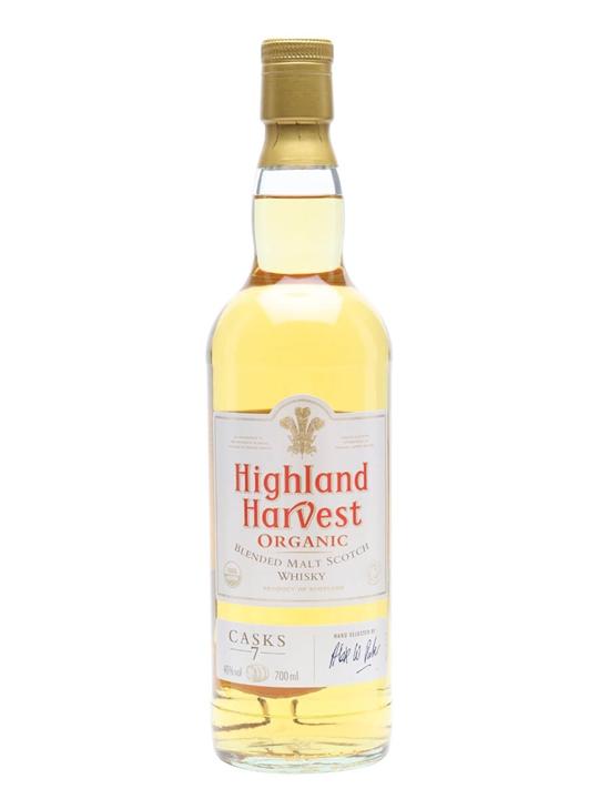 Highland Harvest / 7 Casks / Organic Blended Malt Whisky Blended Whisky