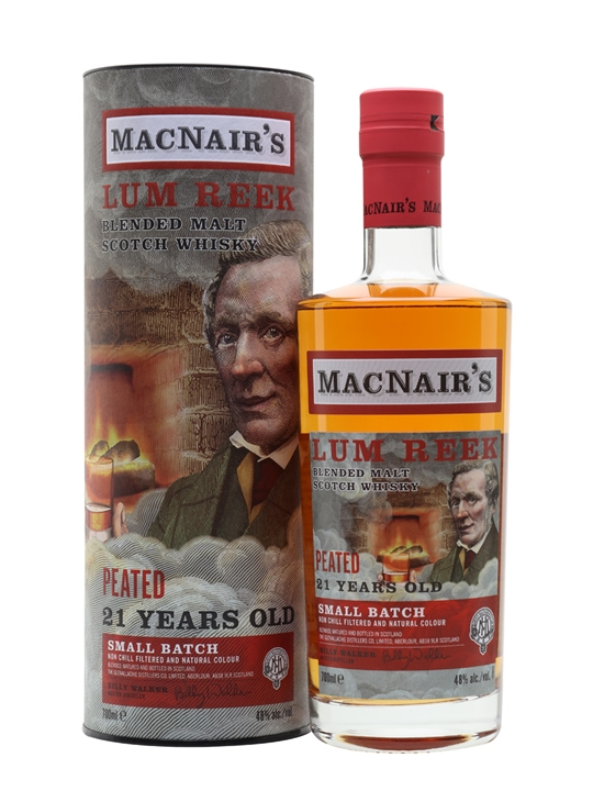 MacNair's 21 Year Old Blended Malt Scotch Whisky