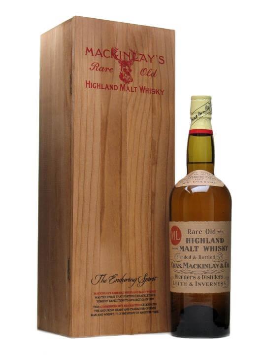 Shackleton's Discovery / Mackinlay's Rare Old Highland Malt Blended Whisky