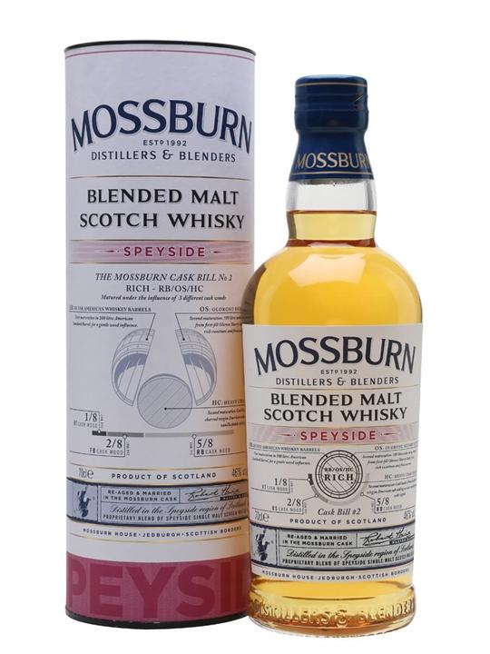 Mossburn Speyside Blended Malt Blended Malt Scotch Whisky
