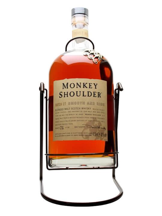 Monkey Shoulder 'Gorilla' plus Cradle / Large Bottle Blended Whisky