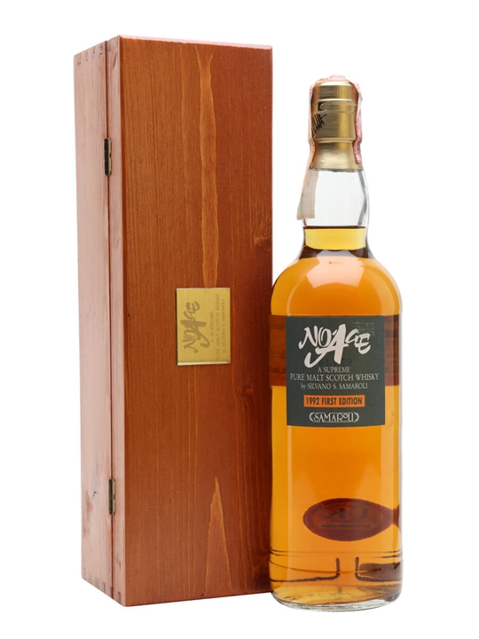 No Age Pure Malt / First Edition 1992 / Samaroli Blended Whisky
