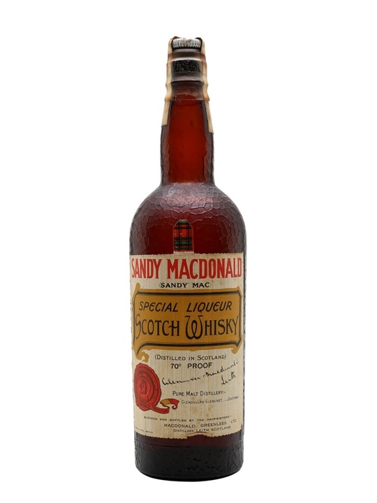 Sandy Macdonald / Bot.1940s Blended Malt Scotch Whisky
