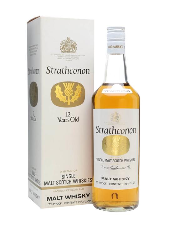 Strathconon 12 Year Old / Bot.1970s Blended Malt Scotch Whisky