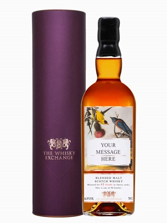 Personalised Blended Malt 45 Years Old Blended Malt Scotch Whisky