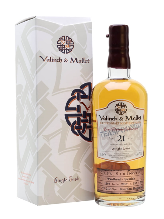 Wardhead 21 Year Old / Valinch & Mallet Blend Malt Scotch Whisky