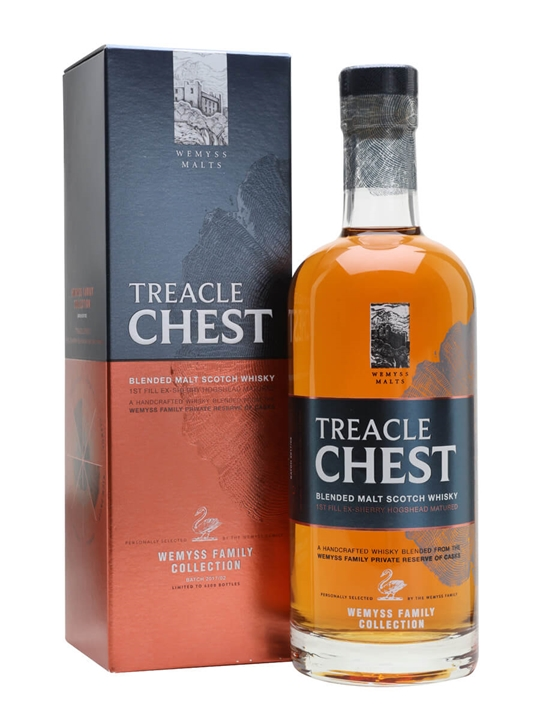 Wemyss Malts Treacle Chest / Family Collection Blended Whisky