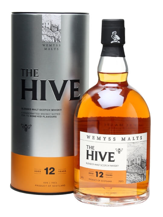 Wemyss Malts The Hive 12 Year Old Blended Malt Scotch Whisky