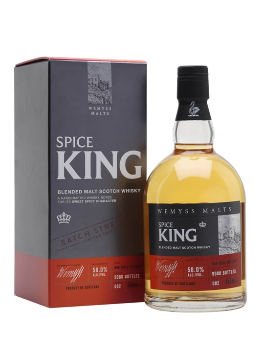 Wemyss Spice King Cask Strength Batch No 002 Blended Whisky