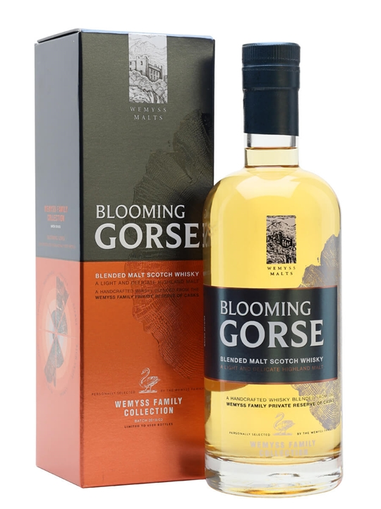 Wemyss Blooming Gorse / Family Collection Blended Malt Scotch Whisky