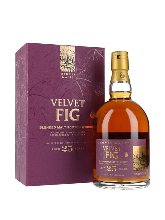 Wemyss Malts Velvet Fig 25 Year Old Blended Malt Scotch Whisky