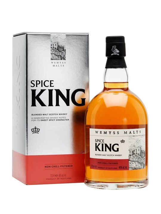 Wemyss Malts Spice King Blended Malt Scotch Whisky