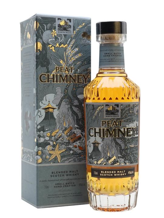 Wemyss Malts Peat Chimney Blended Malt Scotch Whisky