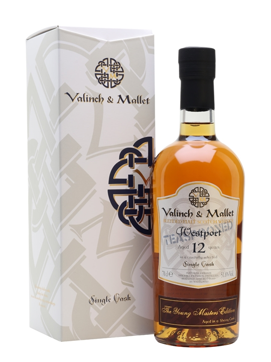 Westport 12 Year Old / Valinch & Mallet Blended Malt Scotch Whisky