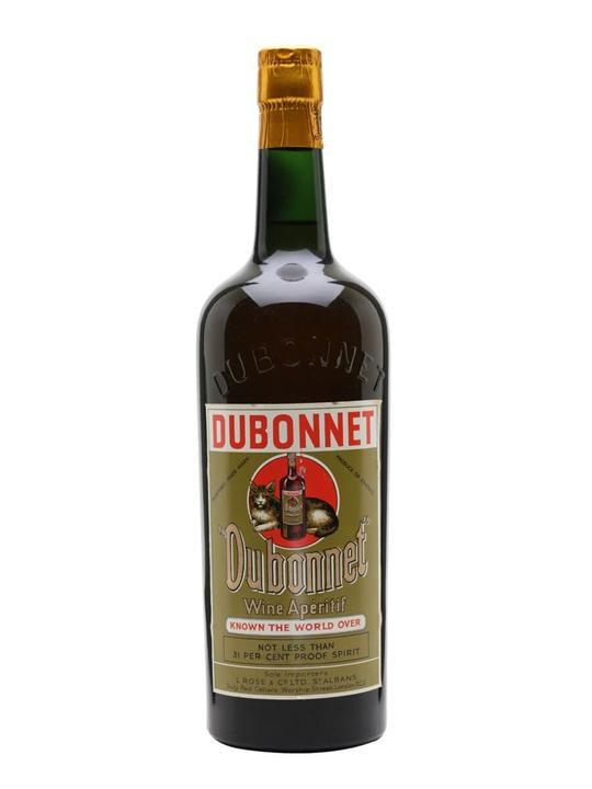 Dubonnet Wine Aperitif / Bot.1960s