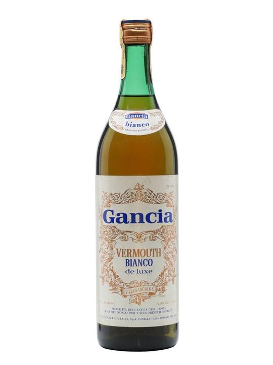 Gancia Vermouth Bianco De Luxe / Bot.1960s