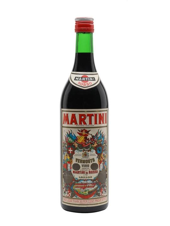 Martini Rosso Vermouth / Bot.1980s / Litre