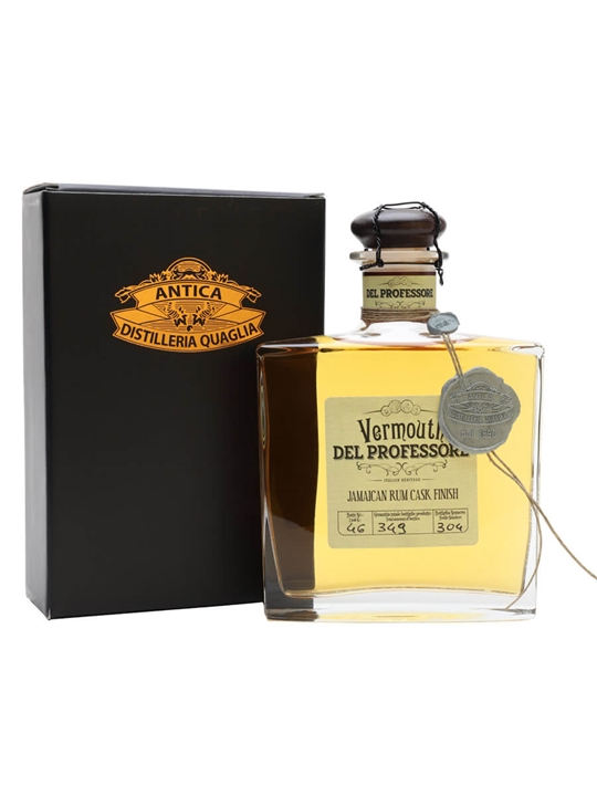 Del Professore Vermouth Jamaican Rum Finish