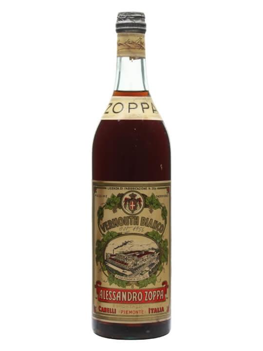 Zoppa Vermouth Bianco / Bot.1950s