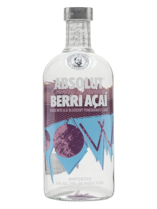 Absolut Acai Berry (Berri Acai) Vodka